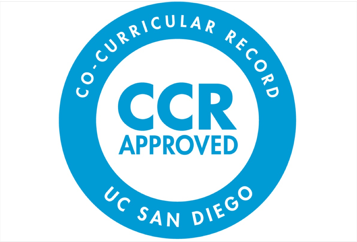 CCR logo: blue circle with letters CCR inside